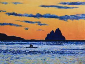 Bora silhouette