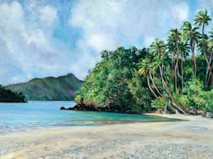 Hanaa Iti plage
