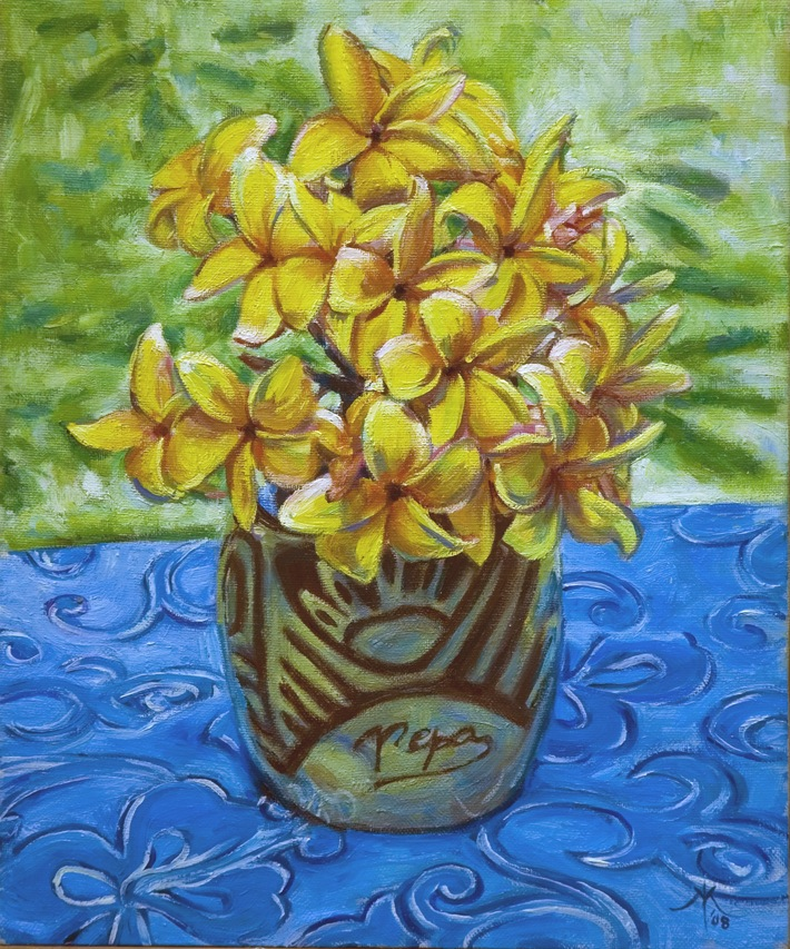 bouquet tipanier pepa