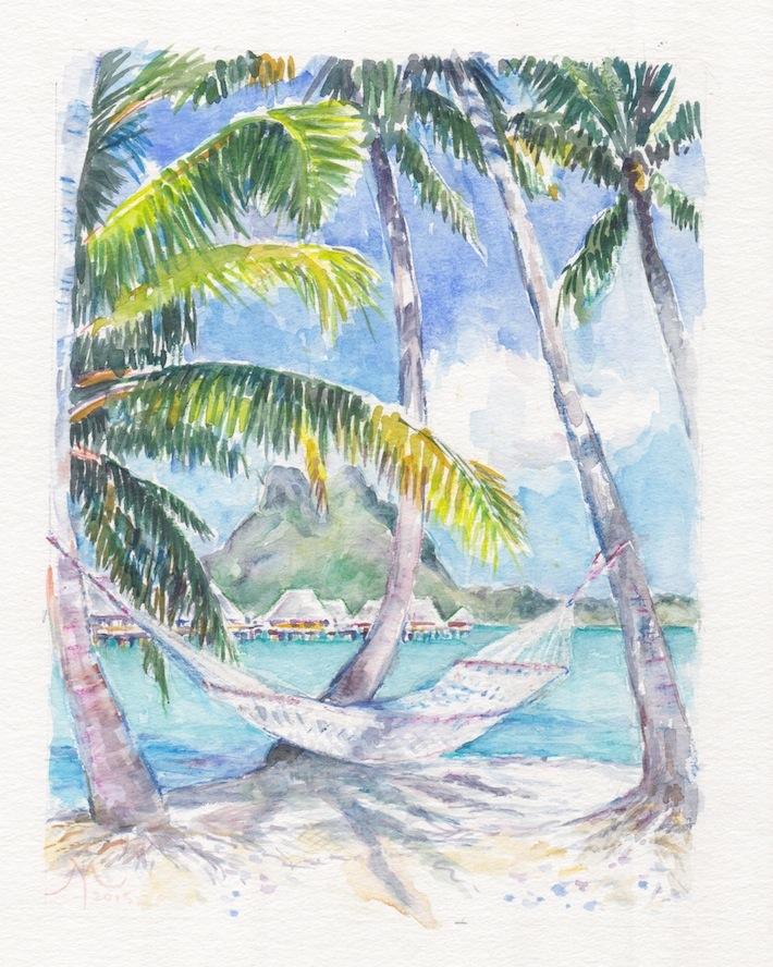 AQ Hammock Pearl Beach Bora 2015