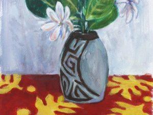 Tiare eliptical vase
