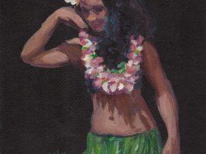 Tahitian dancer 2016