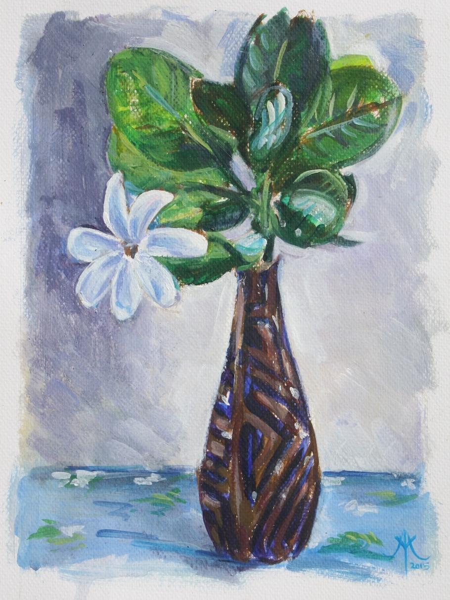 tiare tall vase